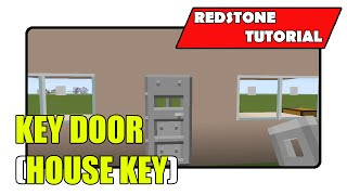 Key Door 2 [House Key] (Minecraft Xbox TU22/PlayStation CU8)