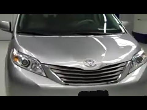 2011 Toyota Sienna Xle 2nd Bench Third 7 To 8 Pass Tv Dvd