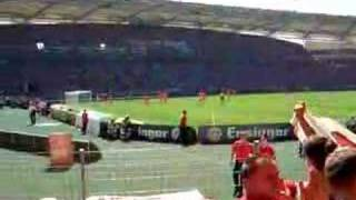 VFB - COTTBUS equalizing goal Hitzlsperger (27
