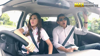 Guys Get Pranked By A Shy Sales Girl Who Love To Drift In Trial Run