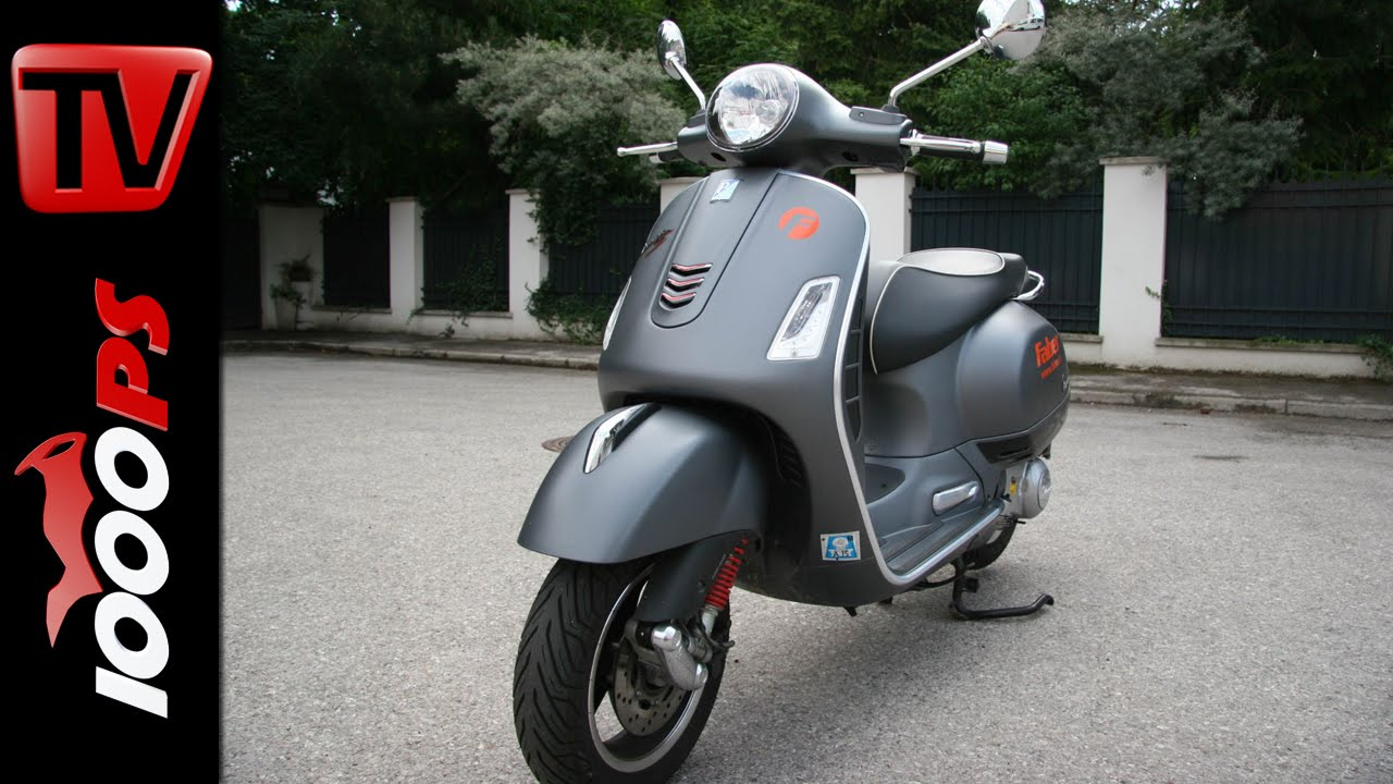 2015 vespa gts 300 super sport test 300er roller. Black Bedroom Furniture Sets. Home Design Ideas