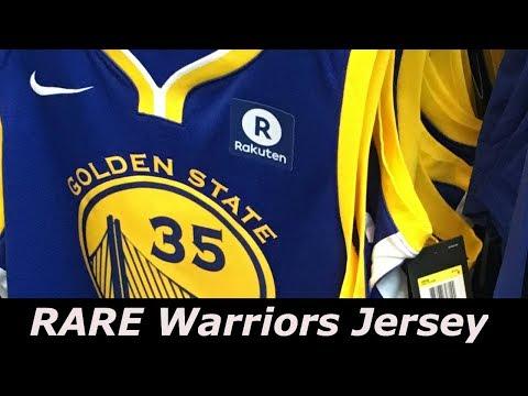Rare Nike x NBA Golden State Warriors Jersey Review