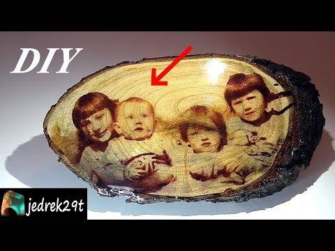 DIY. Transfer Your Photo to Wood/Przenieś Swoje Zdjęcie na Drewno