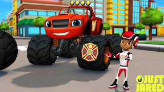 "Blaze & the Monster Machines ""Fired Up"" Exclusive Clip"