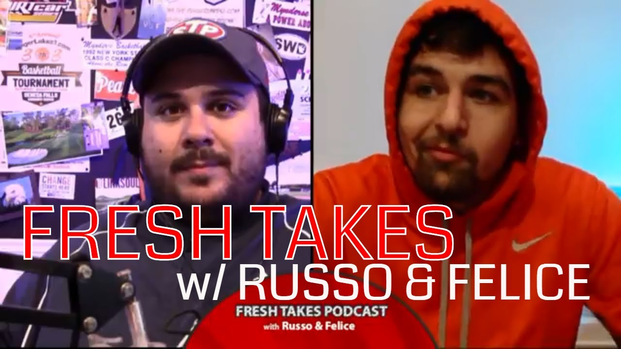 Tiger's Comeback, 'Cuse in Death Valley, NFL & baseball's final week .::. Fresh Takes with Russo & Felice 9/25/18