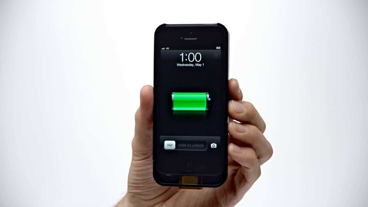 Duracell Powermat - iPhone 5 Accesscase - YouTube
