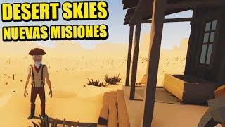 NUEVAS MISIONES, NUEVO PREMIO  ESCALERA AL CIELO - DESERT SKIES Actualización | Gameplay Español