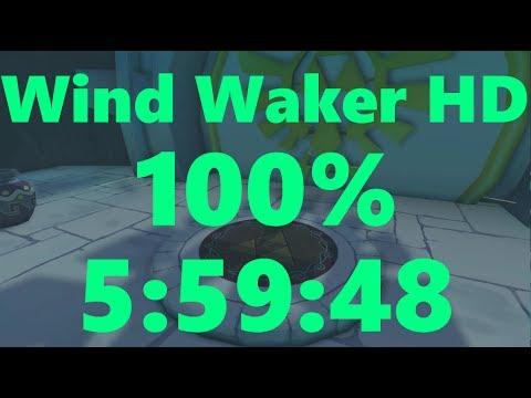 Wind Waker HD 100% Speedrun in 5:59:48