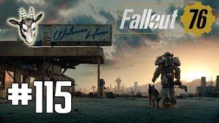 #115 ● Abgestürzt auf Nukashine ● Fallout 76 [BLIND]