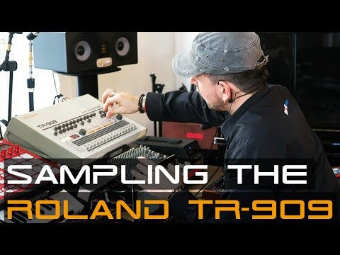 Sampling The Roland TR 909