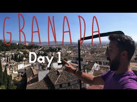 Granada Spain is a city full of life!  (Vlog 269) Granada day 1
