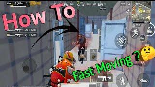 How To Fast Move & Shoot ! pubg Mobile ! 20 SOLO KiLLS !