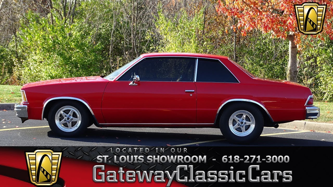 1978 chevrolet malibu stock 7524 gateway classic cars st louis showroom youtube. Black Bedroom Furniture Sets. Home Design Ideas