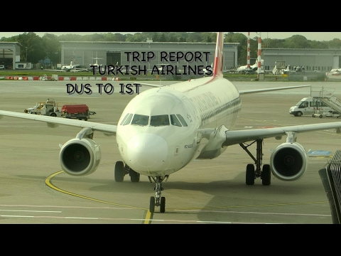 Flight Report - Turkish Airlines Airbus A321 Economy Class Düsseldorf to Istanbul