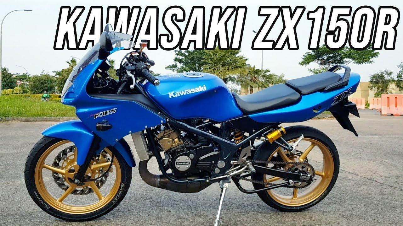 Modifikasi Kawasaki Ninja Rr 150 2stroke Zx150r Juara Sentul Youtube