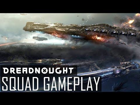 Dreadnought - ARMCO IN ACTION! Squad Gameplay ft. CaptainShack & Sykness