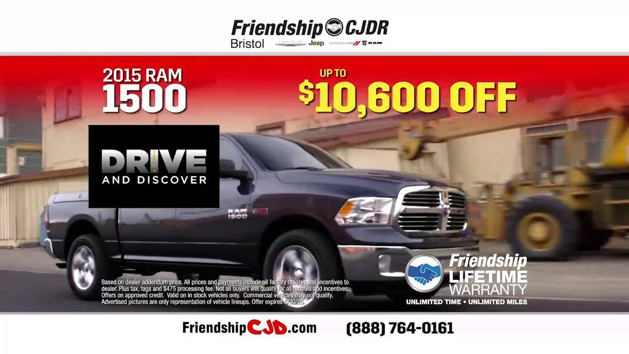 Friendship Chrysler Jeep Dodge Ram Of Bristol   Call Me