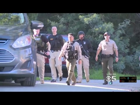 Authorities Continue Search For Suspected Bank Robber In Santa Cruz Mountains
