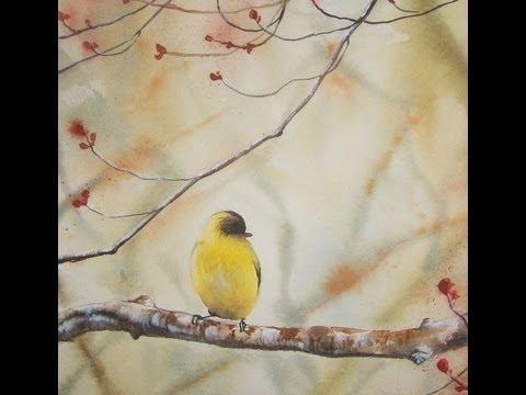 Acquerello tutorial autunno come dipingere un soggetto for Quadri facili da dipingere