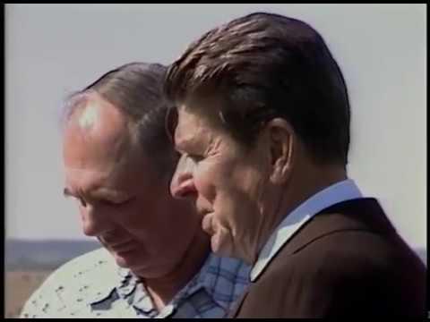 President Reagan's Visit to Iowa on September 20, 1984