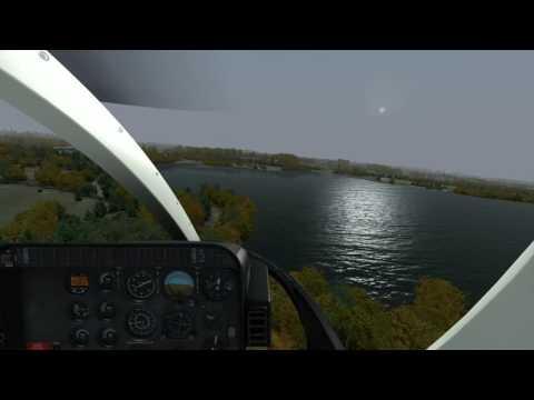 VATSIM UK VFR Pilot Tutorials: Heathrow helicopter crossing - Milviz Bell 407