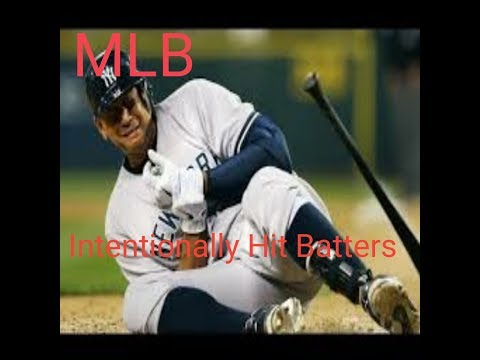 MLB: Intentionally Hit Batters