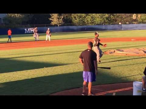 Cameron Foster - Team Elite Short Stop Slow-Rollers (Sept 29, 2016 - Marietta HS) #6