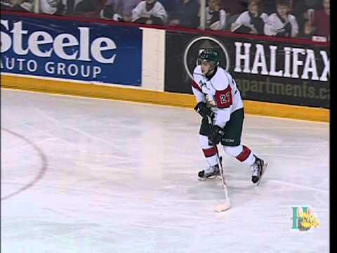 HFX vs PEI Highlights - Halifax Mooseheads vs PEI Rocket - Jan 12, 2013