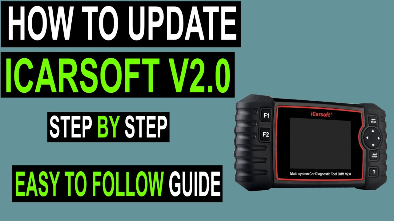 ICARSOFT CR V2.0 PROFESSIONAL 5 FREE UPDATE OBDII DIAGNOSTIC CODE SCAN TOOL