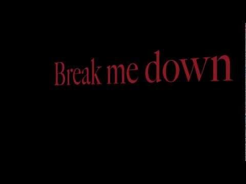 RED ~ Break Me Down ~ Lyrics