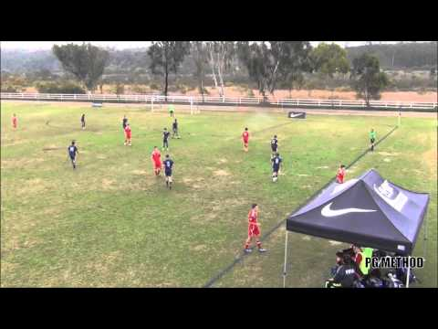 2013 Surf Cup: Santa Monica United B96 Blue v Westside Timbe
