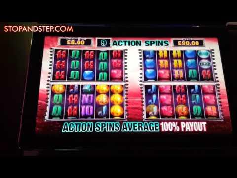 Jackpot Gems with BIG Action Spins - £500 Jackpot Slot Machine
