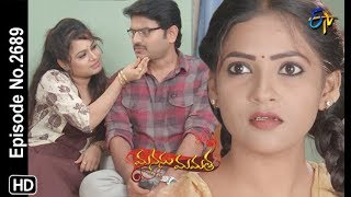 Manasu Mamata   2nd September 2019   Full Episode No 2689   ETV Telugu