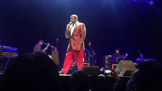 Gerald Alston cantando Forever by your side - The Manhattans - Porto Alegre
