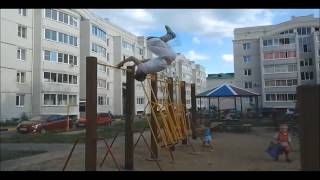 Parkour the Russia-(music by Android porn )
