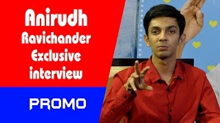 Anirudh Ravichander Exclusive Interview Promo || Indiaglitz Telugu