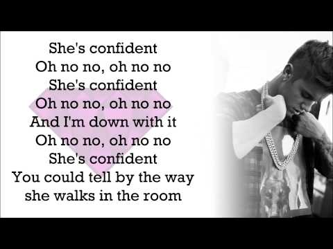 Justin Bieber feat. Chance The Rapper - Confident (with Lyrics)