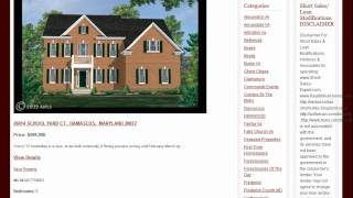 Nice Homes For Sale in Damascus Maryland 20872