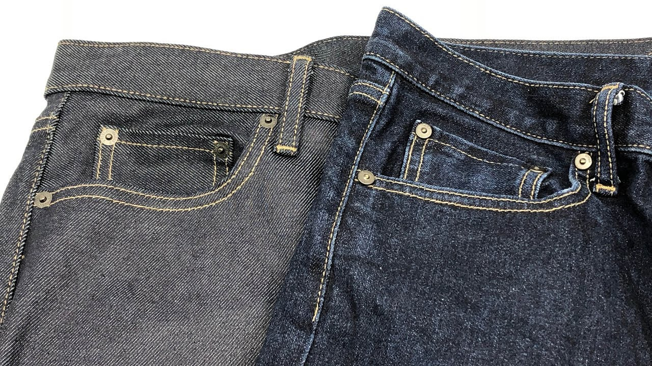 37262c586bb3fa Uniqlo Men Stretch Selvedge Slim Fit Jeans 👖 One Year Later【4K ...