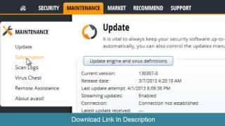 Avast Internet Security & Avast Antivirus Pro Crack Till 2050 By Suraj Softwares