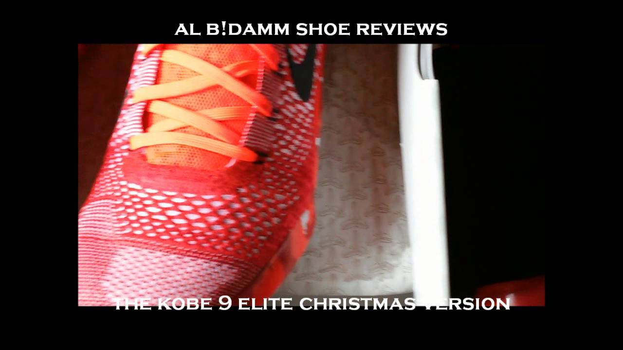 Kobe 9 Christmas edition Official review - YouTube
