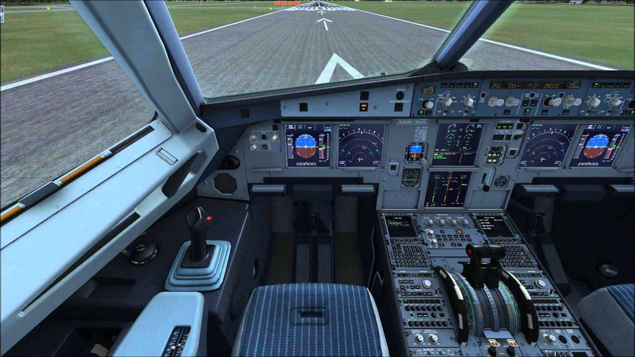 flight simulator chair 360 balance ball chairs for the office fsxairbusx throttle settings xbox controller youtube