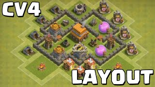 CLASH OF CLANS - CV4 LAYOUT