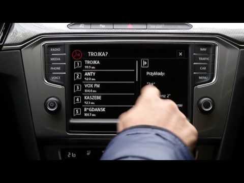 VW Passat_sterowanie głosem