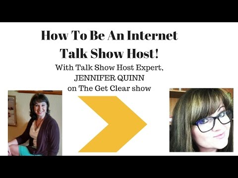 How To Become An Internet Talk Show Host!
