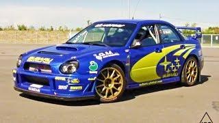 "Subaru Impreza S8 WRC ""ex Solberg"" on track!"