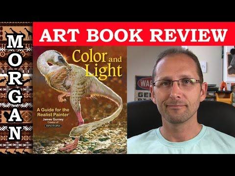 Art Book Review, Color & Light by James Gurney - review Jason Morgan Wildlife Art