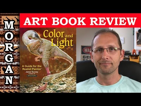 art-book-review,-color-&-light-by-james-gurney---review-jason-morgan-wildlife-art