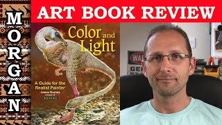 Art Book Review, Color & Light by James Gurney - review Jason Morgan Wildlife Art