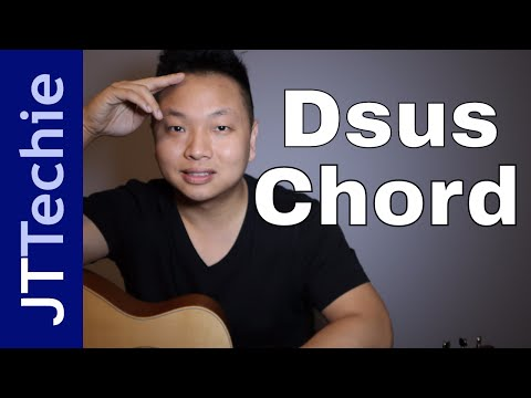 How to Play Dsus Chord on Acoustic Guitar | D Suspended Chord